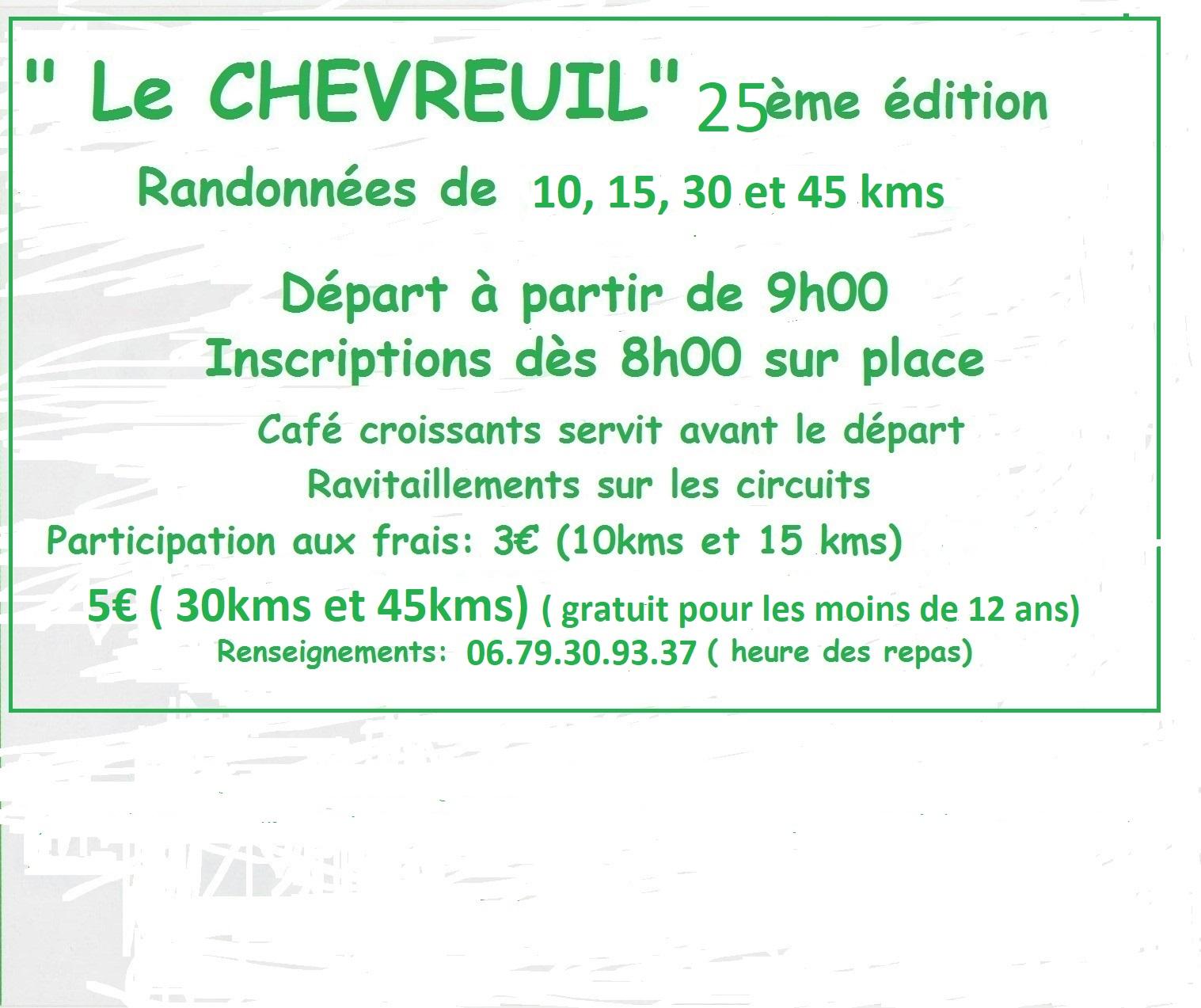Flyer chevreuil 2